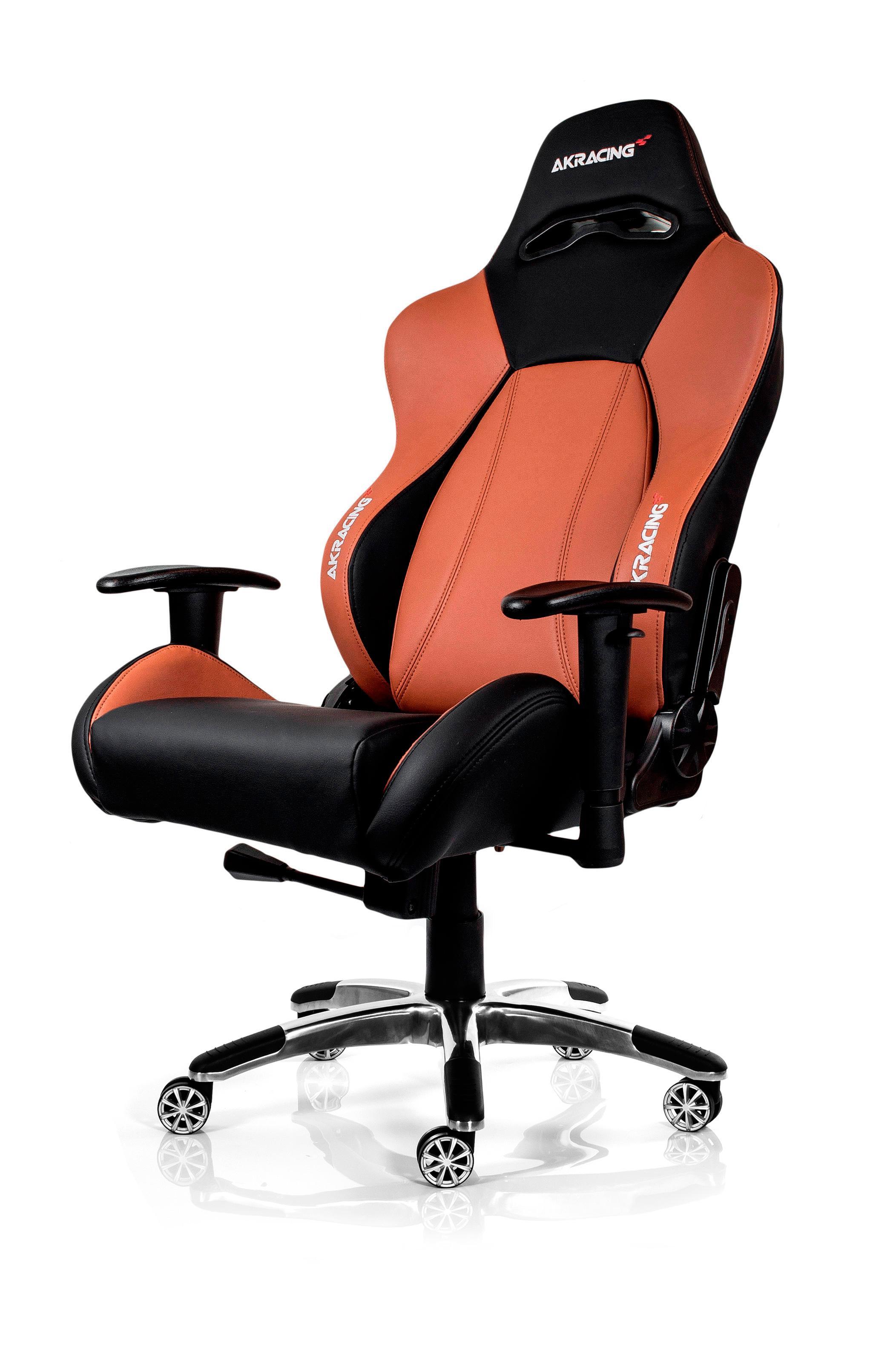 ak racing gaming premium gaming chair black brown