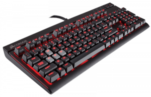Corsair Strafe Mechanical Keyboard - MX Red Switch with Red LED