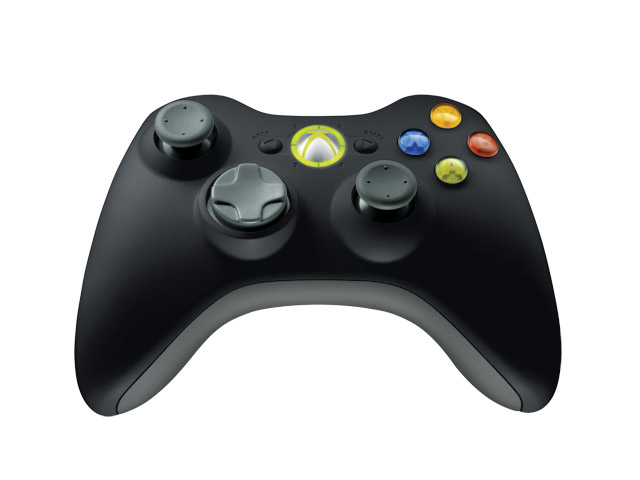 Xbox 360 Controller Wireless Black