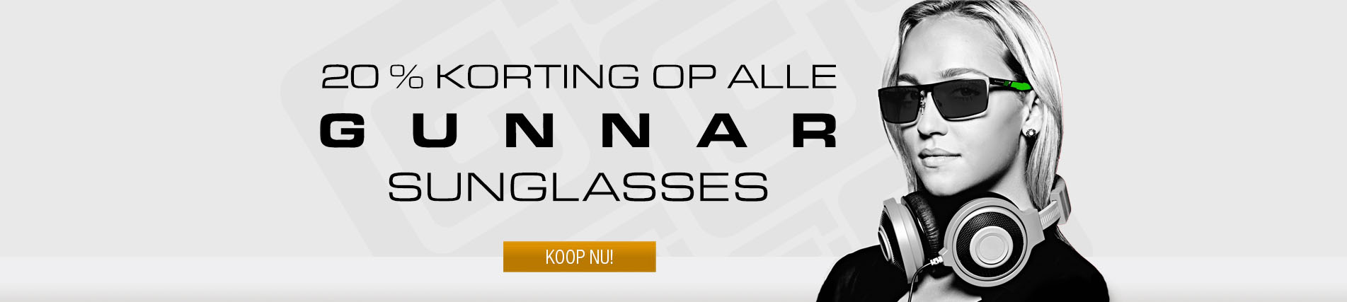 Slider: Gunnar Sunglasses