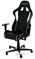 DXRacer Formula Gaming Chair (Black/White) - OH/FE08/NW