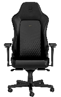 Noblechairs HERO Series - Black (Echt Leder)