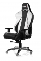 AKRacing Premium Gaming Chair (Black/Silver) - AK-7002-BS