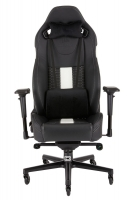 Corsair T2 ROAD WARRIOR Gaming Chair - Black / White