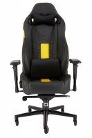 Corsair T2 ROAD WARRIOR Gaming Chair - Black / Yellow
