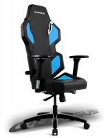 Quersus E302 Gaming Chair (Black/Blue)