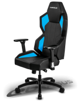 Quersus E702 Gaming Chair (Black/Blue)