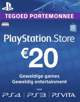PlayStation Network Voucher Card 20EUR NL (PS4 / PS3 / PSP / PSN