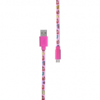 Pop Power - Kissing Lips micro USB kabel