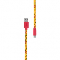 Pop Power - Smile Emojis micro USB kabel