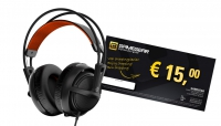 SteelSeries Siberia 200 Headset Black + tegoedbon 15 EUR