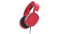 SteelSeries Arctis 3 Gaming Headset (Solar Red)