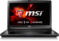 MSI GL72 7RD-064BE Gaming Laptop (Azerty)