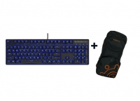 SteelSeries Apex M400 Keyboard - Azerty (FR) + Keyboard bag