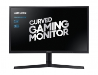 "Samsung LC24FG73FQUXEN 24"" QLED Curved Monitor"