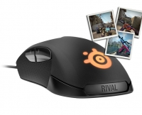 Steelseries Rival 300 (Black) + FREE CS:GO SKIN