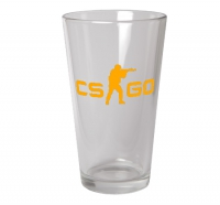 CS:GO - Glass (Orange Logo)