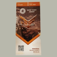 Gameforce Ticket - Zondag (2018)