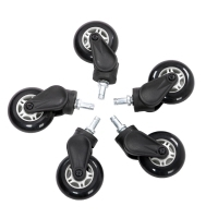 AKRACING Rollerblade Casters - White