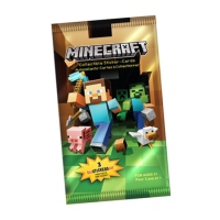 Minecraft Sticker Card Pack