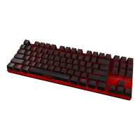 Ozone Strike Battle Red Mechanical Cherry Red - Azerty FR