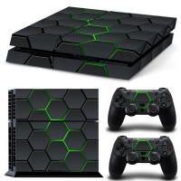Playstation Console Skin - Hex Lime (PS4)