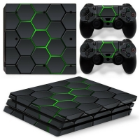 Playstation Console Skin - Hex Lime (PS4 Pro)