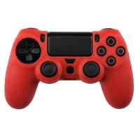 Silicone Protect Case RED (PS4)
