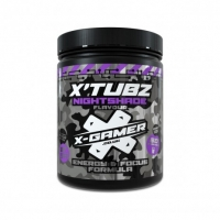 X-Gamer Nightshade Flavour Energy Drink - 60 Serving X-Tubz