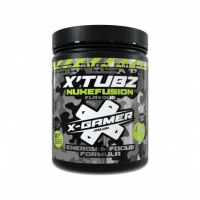 X-Gamer Nukefusion Flavour Energy Drink - 60 Serving X-Tubz