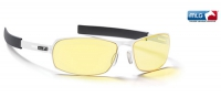 Gunnar Gamer MLG Phantom Snow/White amber lens