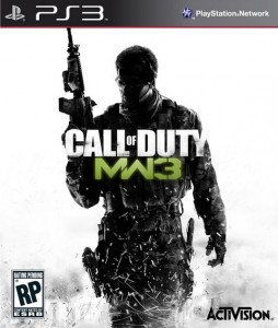 - Call of Duty: Modern Warfare 3 (PS3)