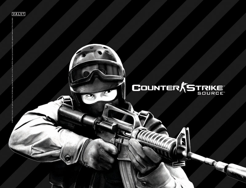Compad Vario Counter Strike Black