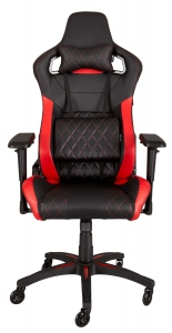 Corsair T1 RACE Gaming Chair - Black / Red