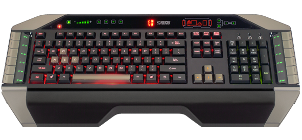 Cyborg Madcatz Gaming Keyboard v.7 (FR) AZERTY