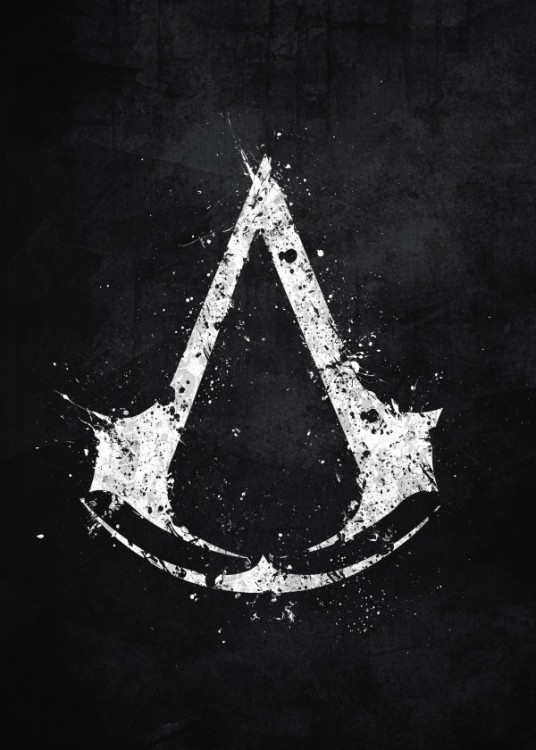 Displate Assassins Creed Logo Gamegear Improve Your Game