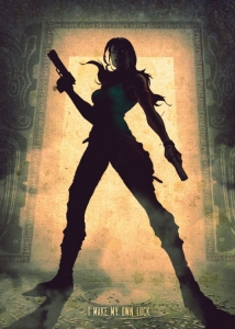 Displate - Lara Croft (Tomb Raider)