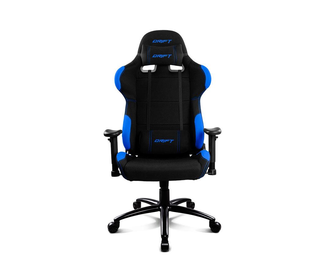 Drift gaming chair dr100 black blue - Silla gaming diablo ...