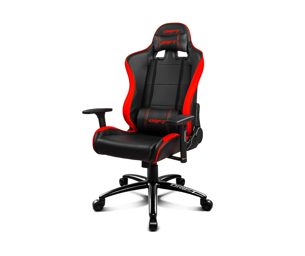 Drift gaming chair dr200 black red for Sedia gaming quersus