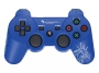 Dragon War DualShock Bluetooth controller PS3 (Blue)
