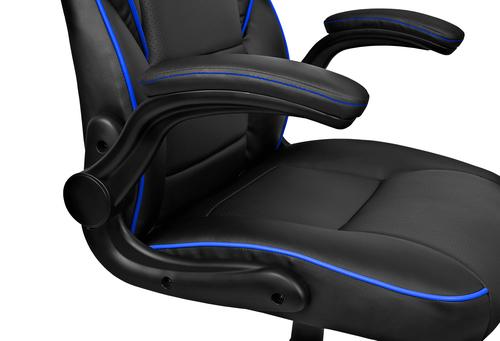 Drift gaming chair dr75 black blue - Silla gaming diablo ...
