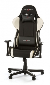 DXRacer Formula Gaming Chair (Black/White) - OH/FL11/NW