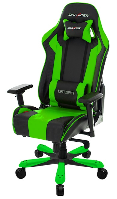 DXRacer KING Gaming Chair BlackGreen OHKF06NE  : dxracerkinggamingchair NE Gaming Chairs <strong>Walmart</strong> from www.gamegear.be size 390 x 660 jpeg 64kB