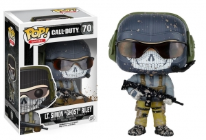 "Funko POP - Games Call of Duty Lt. Simon ""Ghost"" Riley"