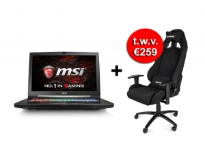 MSI GT73VR 6RF - TitanPro - Azerty (057BE) + Gratis Gaming Chair