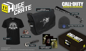 Huge Crate - Box Call of Duty Infinite Warfare (T-shirt size XL)
