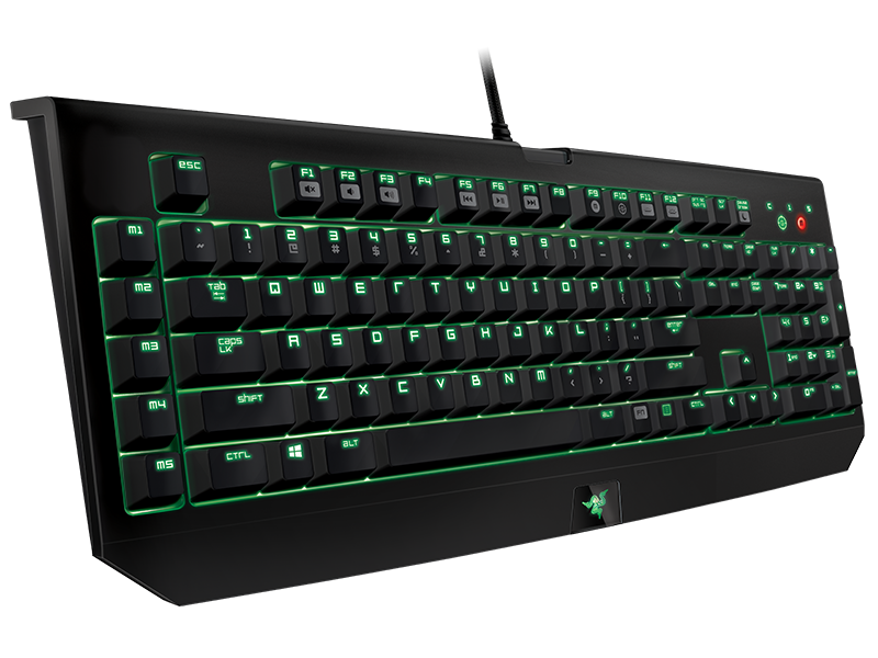 Razer BlackWidow Ultimate Stealth - Qwerty (US) || Gamegear.be - Improve your game