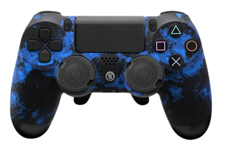 Scuf Gaming Infinity 4ps Camo Blue Ps4 Pro Grip