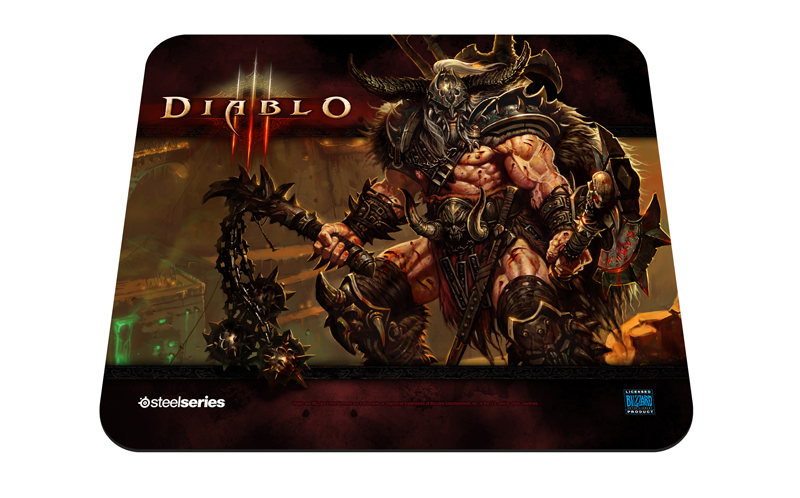 SteelSeries Qck Diablo 3: Barbarian