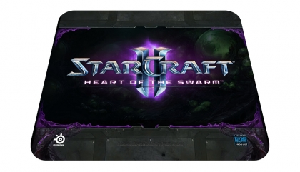 Steelseries QcK Starcraft 2 HotS Logo